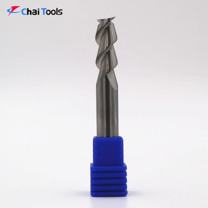 Solid carbide 2 Flutes Flate-end Endmill cutter for aluminum