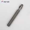Solid carbide 2 Flutes Ball Nose Endmill cutter for aluminum