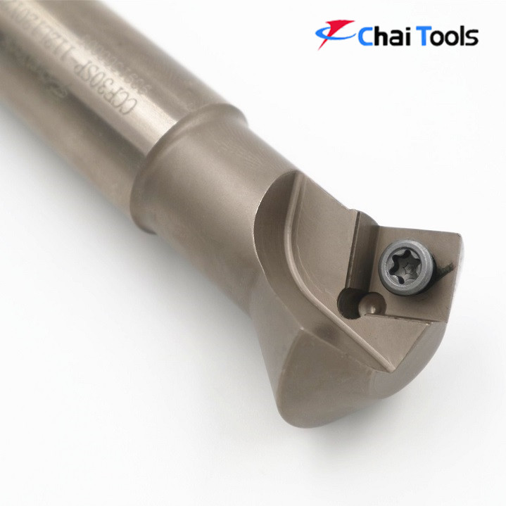 CCF30SP-112L120Y20R-12 30 degree Chamfering cutter holder for high precision CNC machine