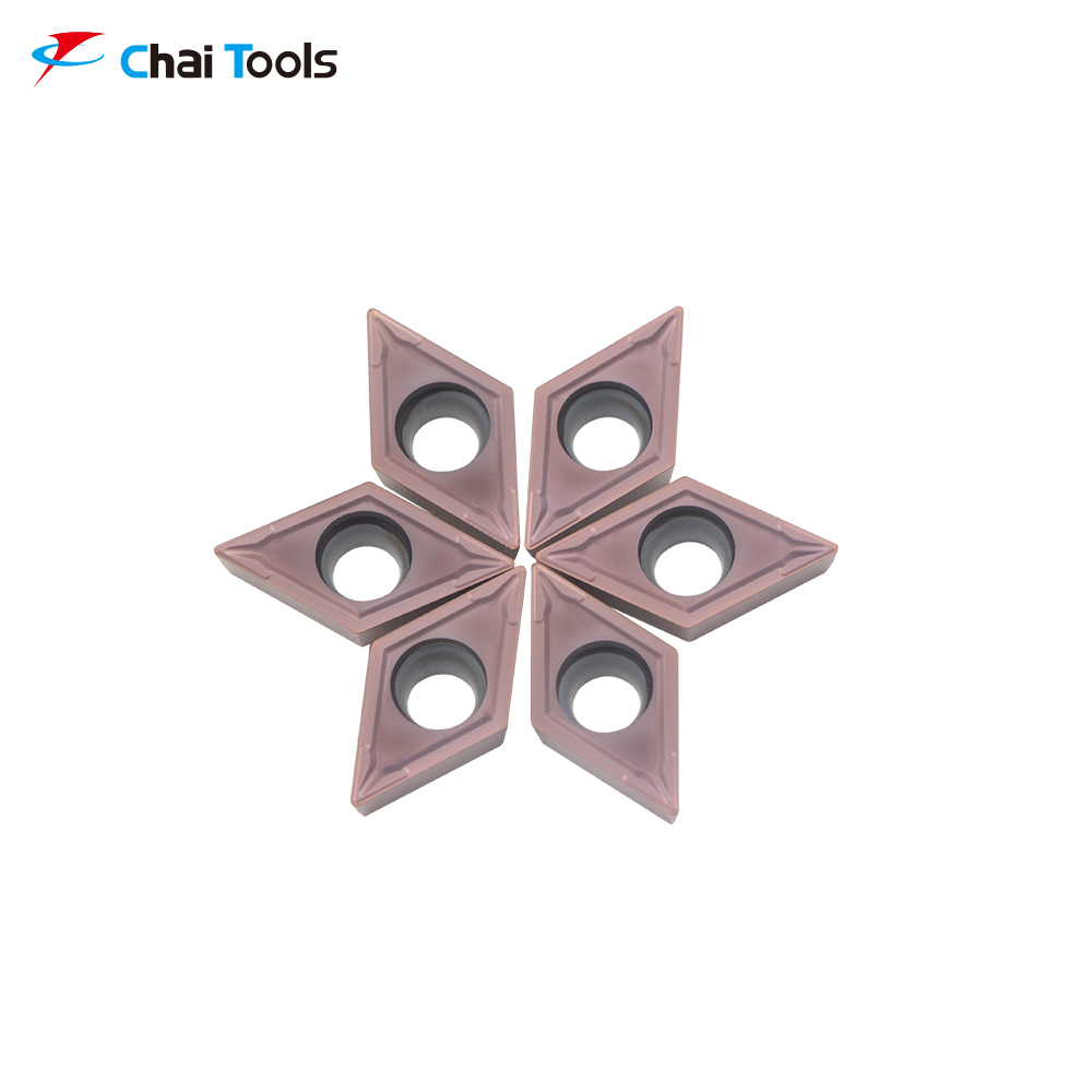 DCMT11T304-GM CT8225 CNC Tungsten Carbide turning insert for stainless steel machining