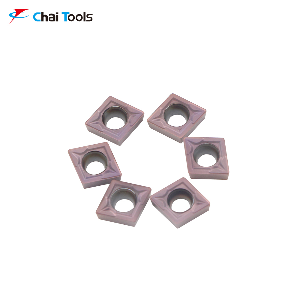 CCMT060204-GM CT8225 CNC Tungsten Carbide turning insert for stainless steel machining